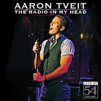 Aaron Tveit - Radio i mit hoved-Live på 54 nedenfor [CD] USA import
