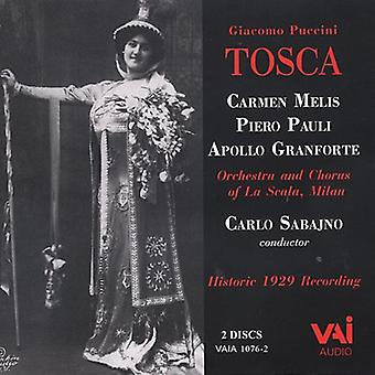 G. Puccini - Puccini: Tosca [CD] USA import