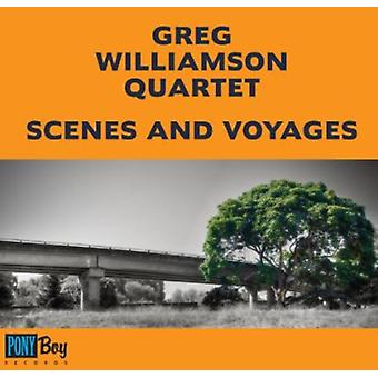 Greg Williamson Quartet - scener & Voyages [CD] USA import