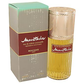Rochas Men Moustache Eau De Toilette Concentree Spray (Damaged Box) By Rochas