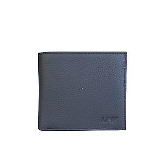 Armani Armani Jeans Bifold Wallet 3 Card Holder Slots And Coin Pouch 938540 CC992