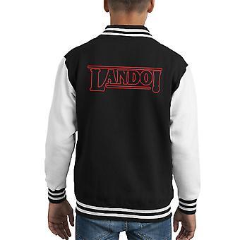 Fremde Dinge Lando Kid Varsity Jacket