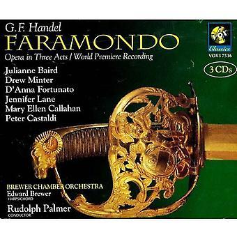 G.F. Handel - Handel: Faramondo [CD] USA import