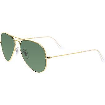 Ray-Ban Aviator Classic Gold Polarized Sunglasses - RB3025-001/58-55