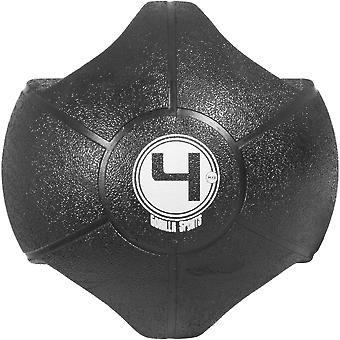 Medizinball mit Griff 4 kg