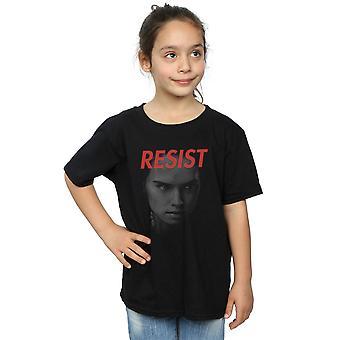 Star Wars Girls der letzten Jedi Rey Gesicht T-Shirt