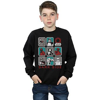 Star Wars Boys The Last Jedi Dark Side Multi Character Sweatshirt