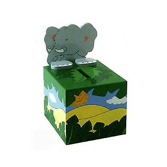 THE TOY WORKSHOP - Money Box - Elephant