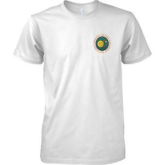 National Aeronautics and Space Administration - NASA USA Insignia - petto Design t-shirt