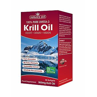 Natures Aid Krill Oil , 60 Softgels