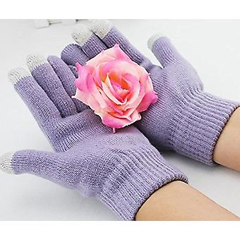 ONX3 (Light Purple) Universal Unisex One Size Winter Touchscreen Gloves For  Zte Nubia N3