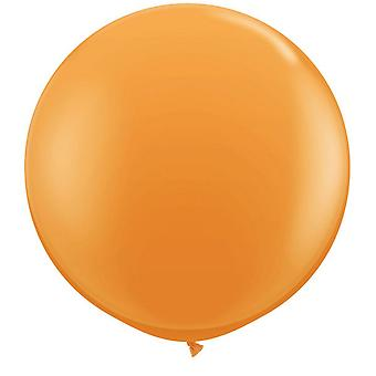 Qualatex 16 Inch Round Plain Latex Balloons (50 Pack)