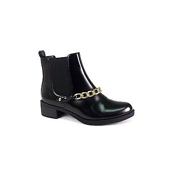 The Fashion Bible Moni Gold Chain Chelsea Boots