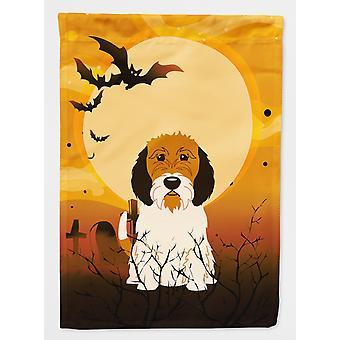 Halloween Petit Basset Griffon Veenden flaga ogród rozmiar