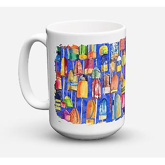 Oncia di aragosta Bouys lavastoviglie sicuro Microwavable Ceramic Coffee Mug 15