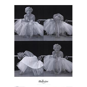 Marilyn Monroe - Ballerina Sequence Poster Poster Print by Milton Greene