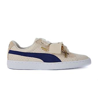 Puma Basket Heart Denim 36337103   women shoes