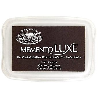 Memento Luxe Ink Pad-Rich Cocoa ML-800