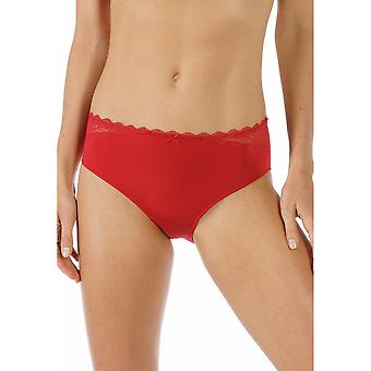 Mey 79801-410 Women's Allegra Ruby Red Solid Colour Knickers Panty Brief