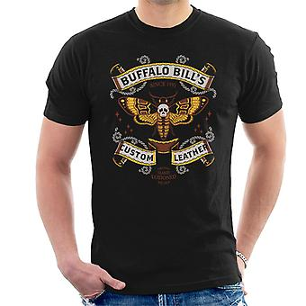Silence des T-Shirt agneaux Buffalo Bills Custom Leather hommes