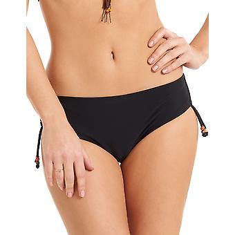 LingaDore 2922SH-2 Women's Sunny Black Solid Colour Swimwear Beachwear Bikini Bottom