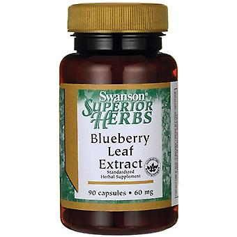 Swanson Blueberry Leaf Extract 60 mg 90 caps (Herbalist's , Supplements)