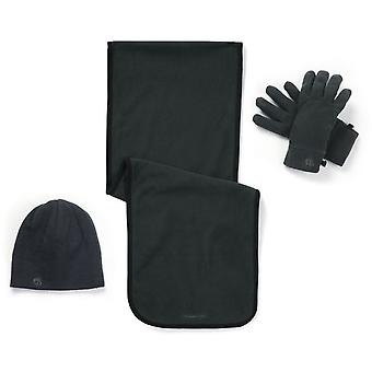 Craghoppers Mens & Womens Essential II Fleece Hat, Glove & Scarf Set
