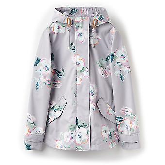 Joules Womens/Ladies Coastprint Waterproof Breathable Jacket Coat