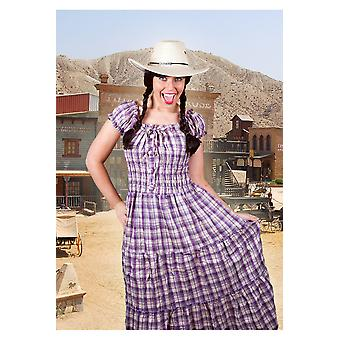 Kostüme Frauen Frauen Cowboy Kleid verschiedene Farben