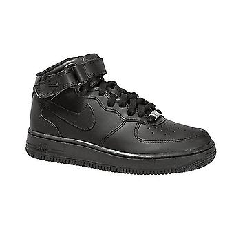 NIKE air force 1 mid ' 07 Kids leather sneaker black