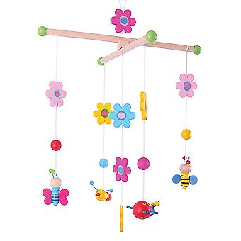 Bigjigs Toys Wooden Children's Garden Mobile Furniture Bedroom Cot Baby