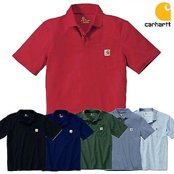 Carhartt polo shirt work Pocket contractor's K570