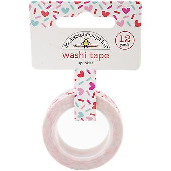 Cream & Sugar Washi Tape-Sprinkles