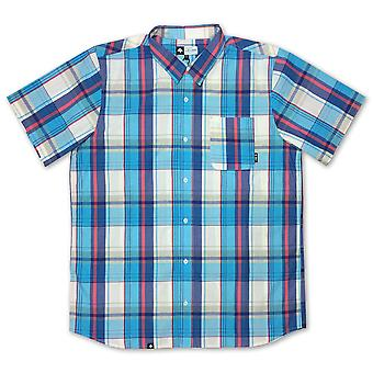 Lrg RC Plaid One Woven Shirt Off White