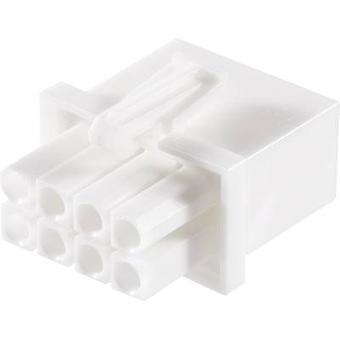 TE tilkobling Pin kabinett - kabel Universal-KOMPIS-N-LOK totalt antall pinner 8 kontakt avstand: 4.14 mm 794821-1 1 eller flere PCer