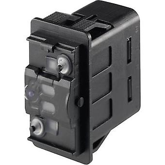 Marquardt Car toggle switch 3250.0052 12 Vdc, 24 Vdc 10 A 1 x Off/(On) momentary IP66/IP67 1 pc(s)