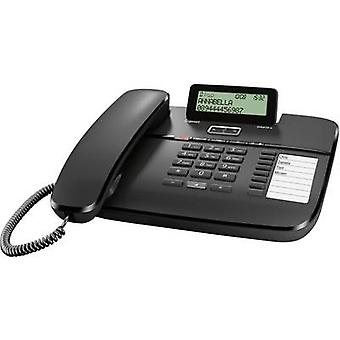 Gigaset DA810A Corded analogue Answerphone, Hands-free Matte Black