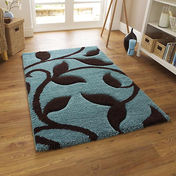 Rugs - New Art Fashion 7647 Blue Brown