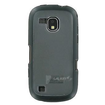 OEM continuüm van de Samsung Galaxy S SCH-i400 Frosted Dual Case (zwart) (Bulk Packagin