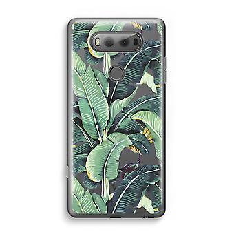 LG V20 Transparent Case (Soft) - Banana leaves