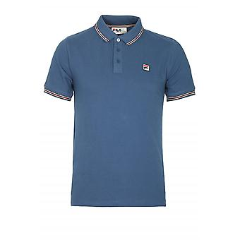 Fila Vintage Matcho Polo Shirt | True Navy