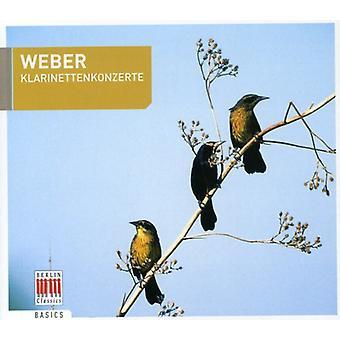C.M. Von Weber - importación USA conciertos para clarinete [CD]