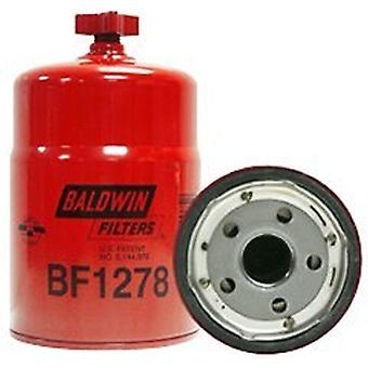 Baldwin Heavy Duty BF1278 Fuel and Water Separator Spin-On Filter with Drain Filter