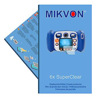VTech Kidizoom Duo screen protector- Mikvon films SuperClear (intentionally smaller than the display due to its curved surface)