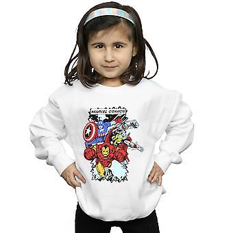 Marvel jenter tegneseriefigurer Sweatshirt