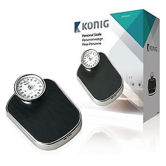 Balanças de banheiro retrô de König HC-PS700N