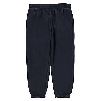 Heatons Kinder Fleece Hose Sport elastische Taille Hose Training Bottoms