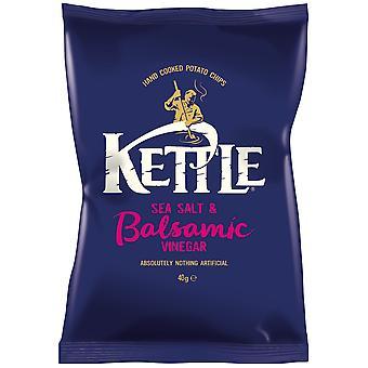 Kettle Sea Salt and Balsamic Vinegar Crisps