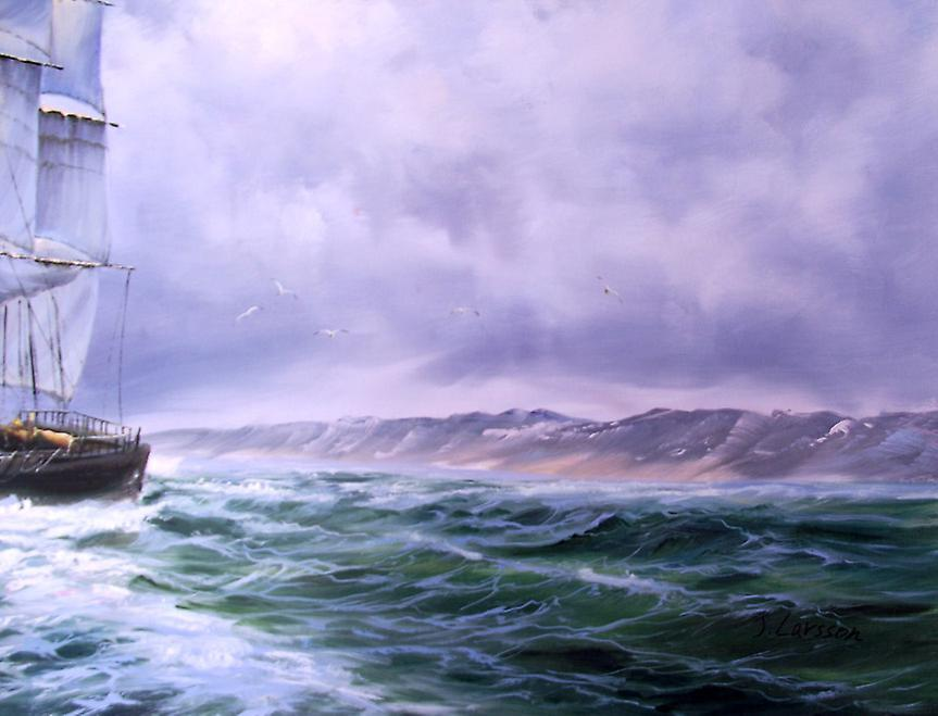70x180 cm-oil painting on canvas