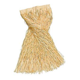 Юбка длинный соломы трава (#60).
